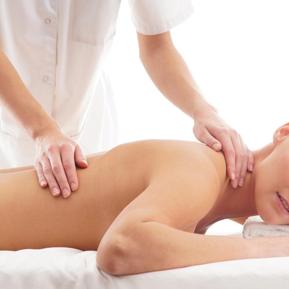 massaggio fisioterapia